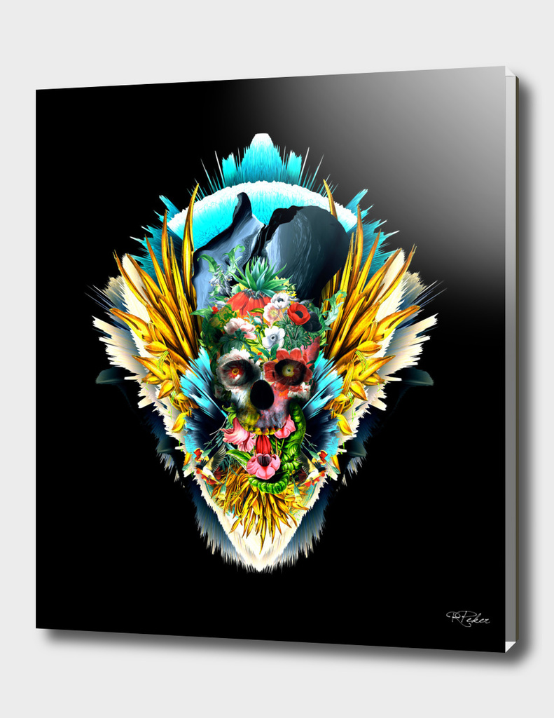 Floral Skull Vivid II