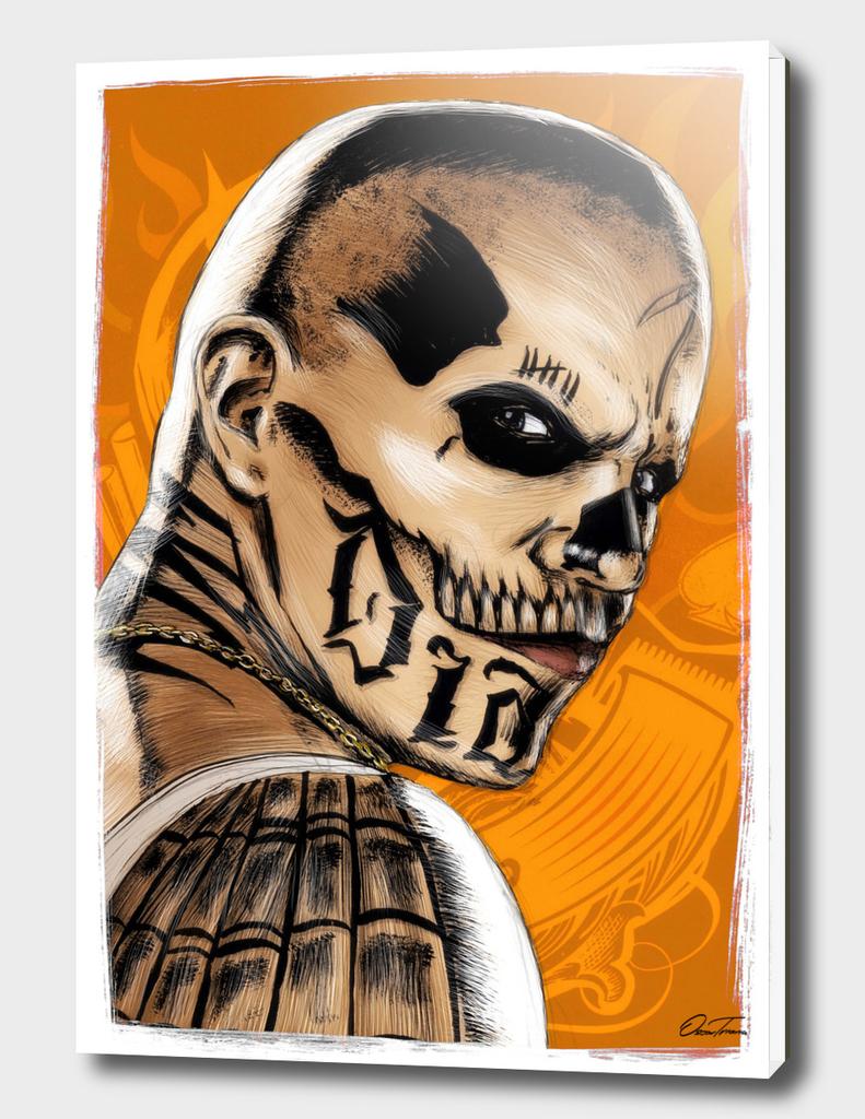 Diablo - Ink & Digital Portrait