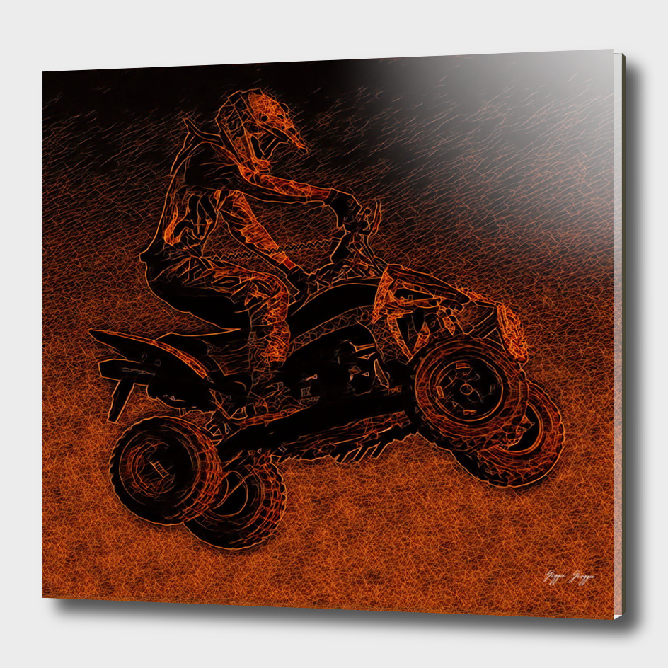 All-terrain Sparks Guide Red Energy Friction Cross Cu