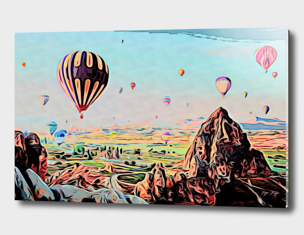 Cappadocia otherworldly ballooning games Gas Event Mo