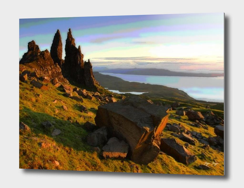 Isle of Skye analog film compression preserved tape