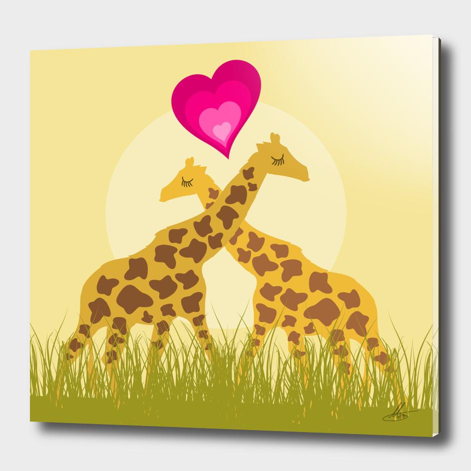 Love a giraffe