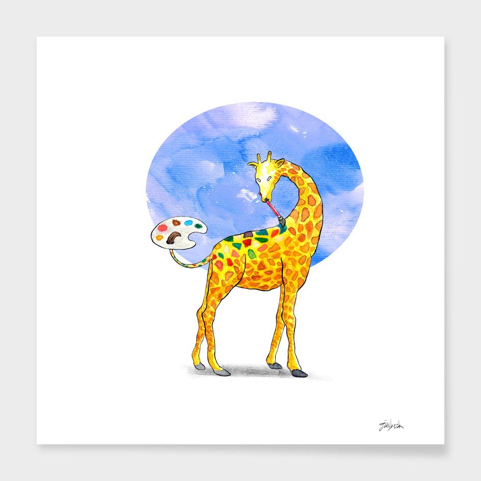 Artist Giraffe