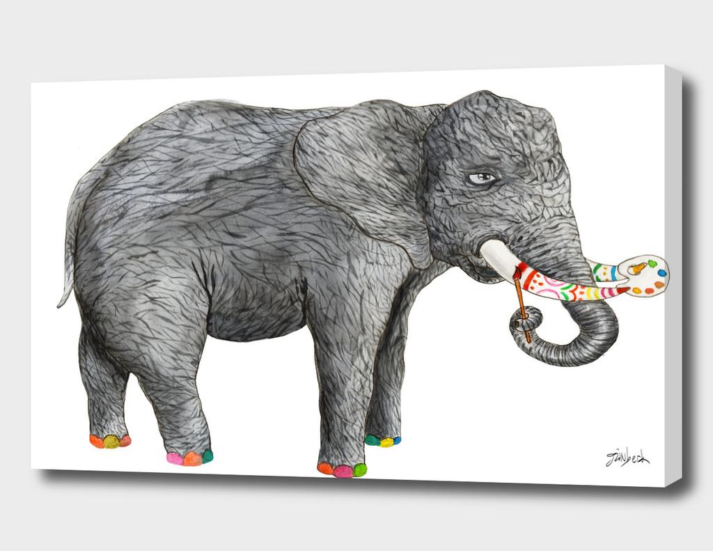 Artist Elephant