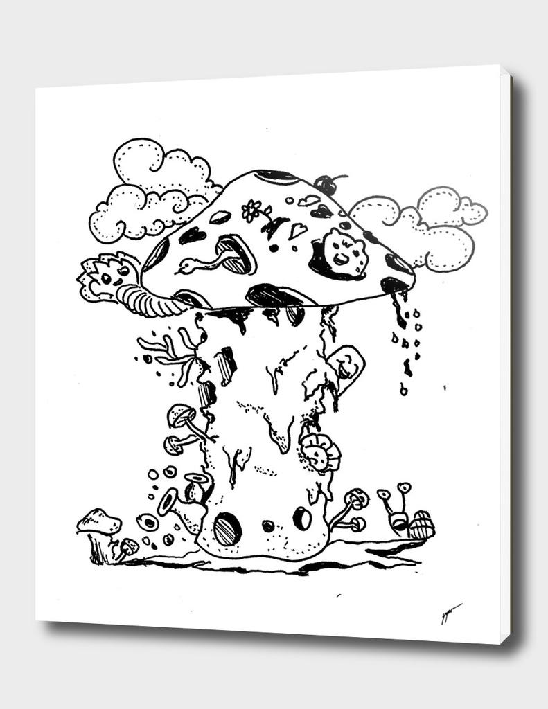 Mushroom-doodle