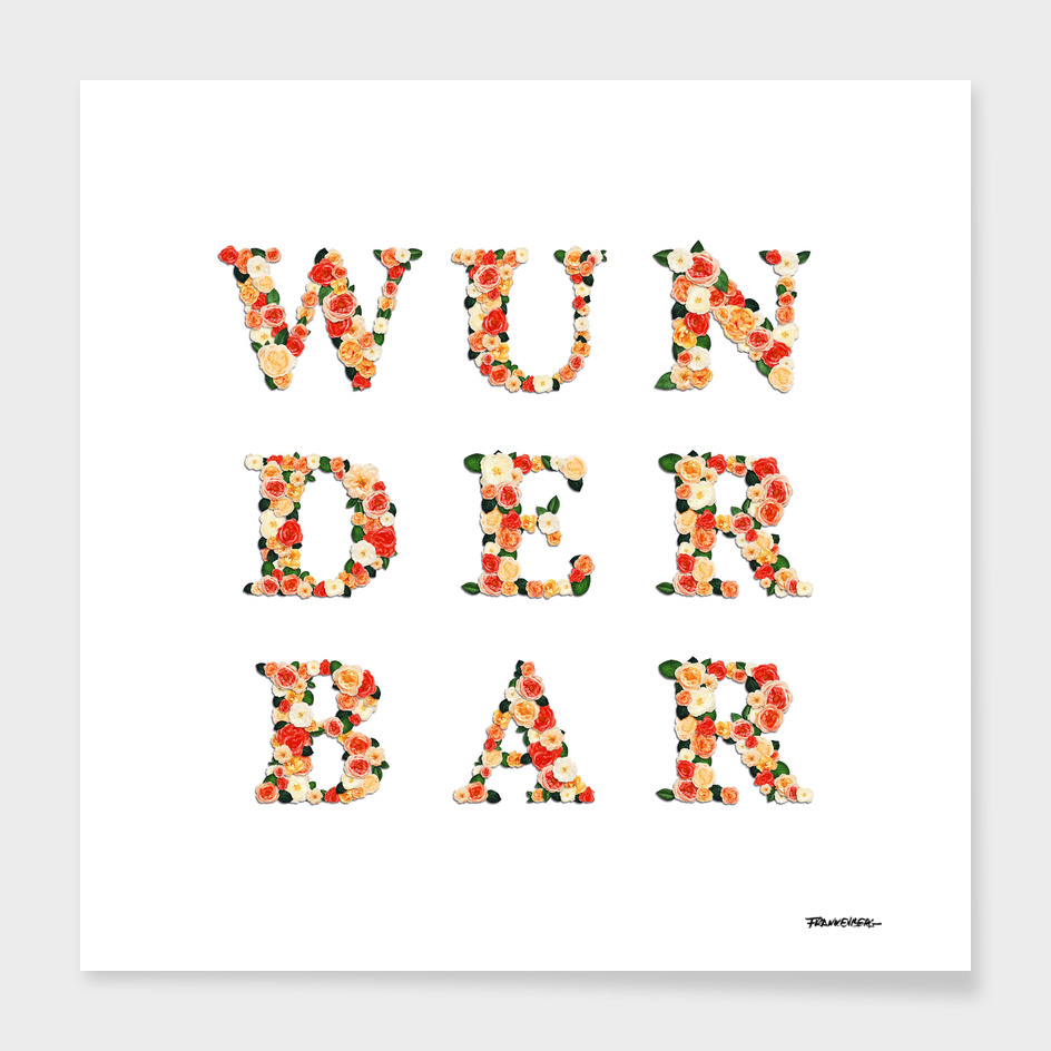 wunderbar - wonderful - east