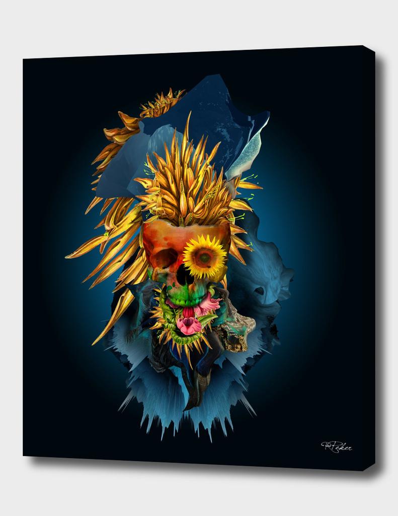 Floral Skull Vivid III