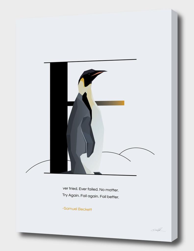 E for Emperor Penguin