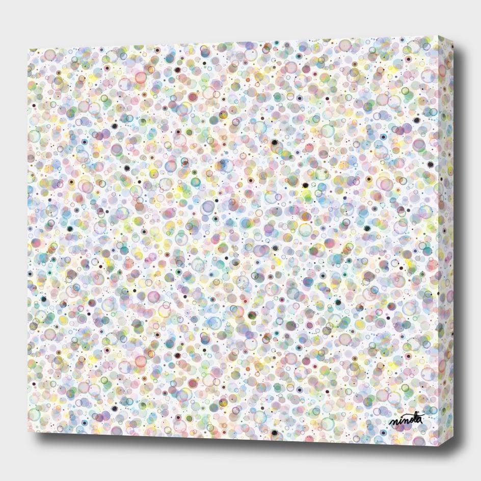 multicolored cosmic bubbles