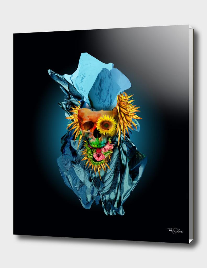 Floral Skull Vivid IV