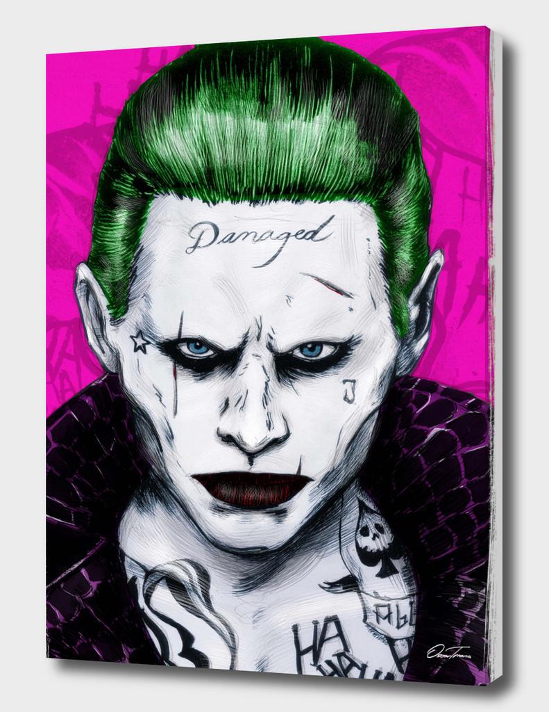 Joker - Ink & Digital Portrait