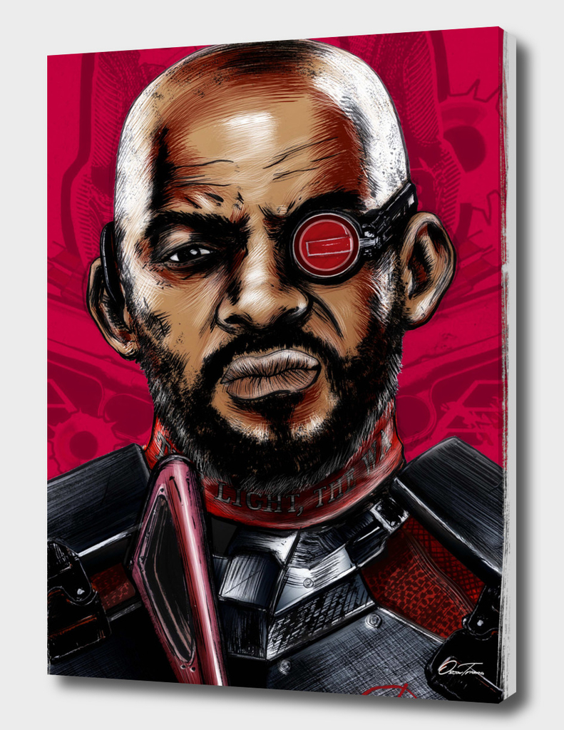 Deadshot - Ink & Digital Portrait