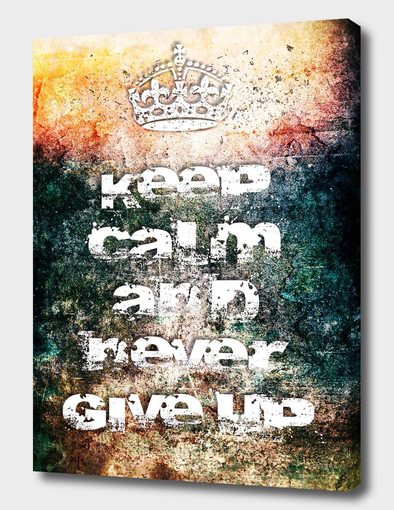 Keep Calm Poster I / NE