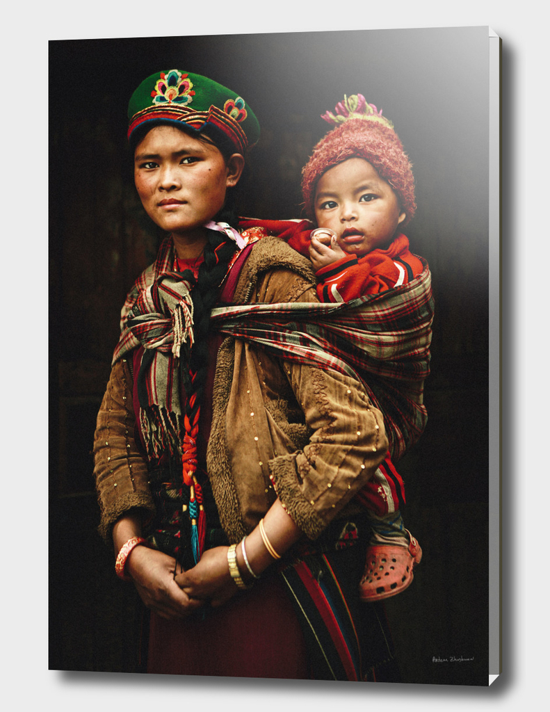 Madonna from Nepal