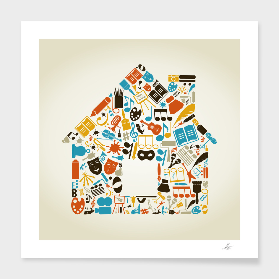 Art the house