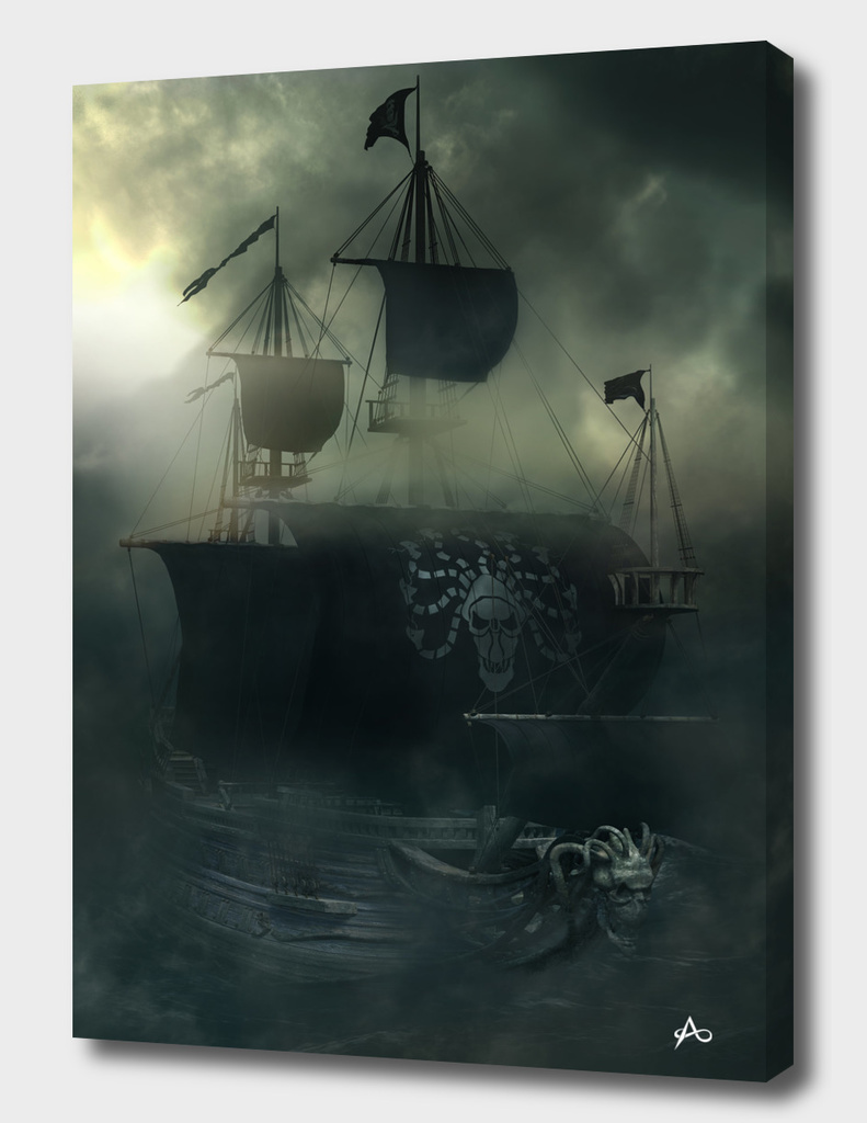 Medusa Pirate Ship-Sea Ghost Legend