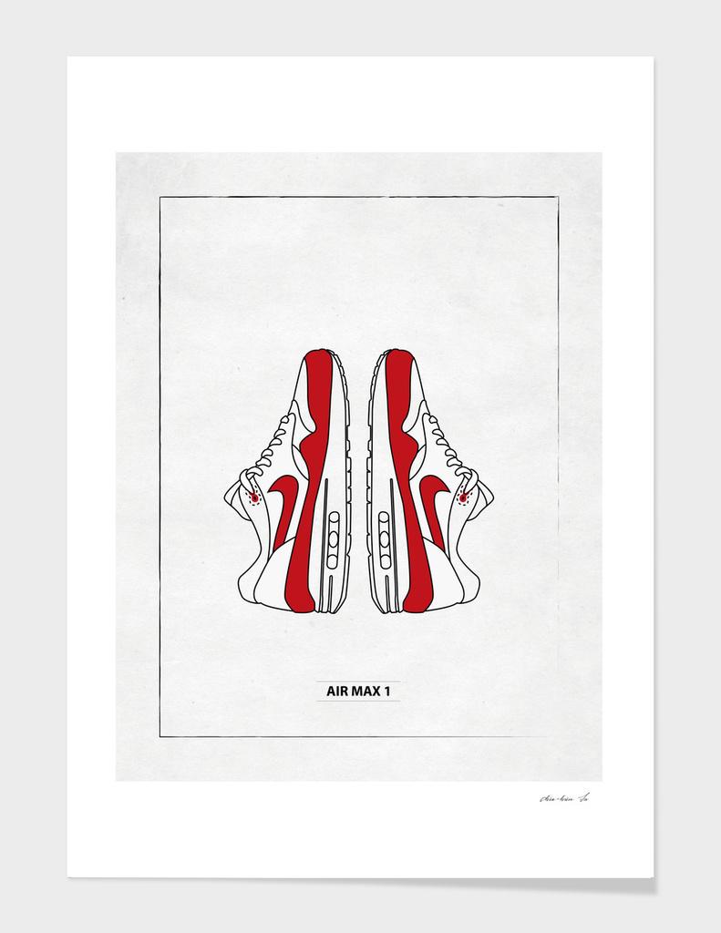 air max 1 poster