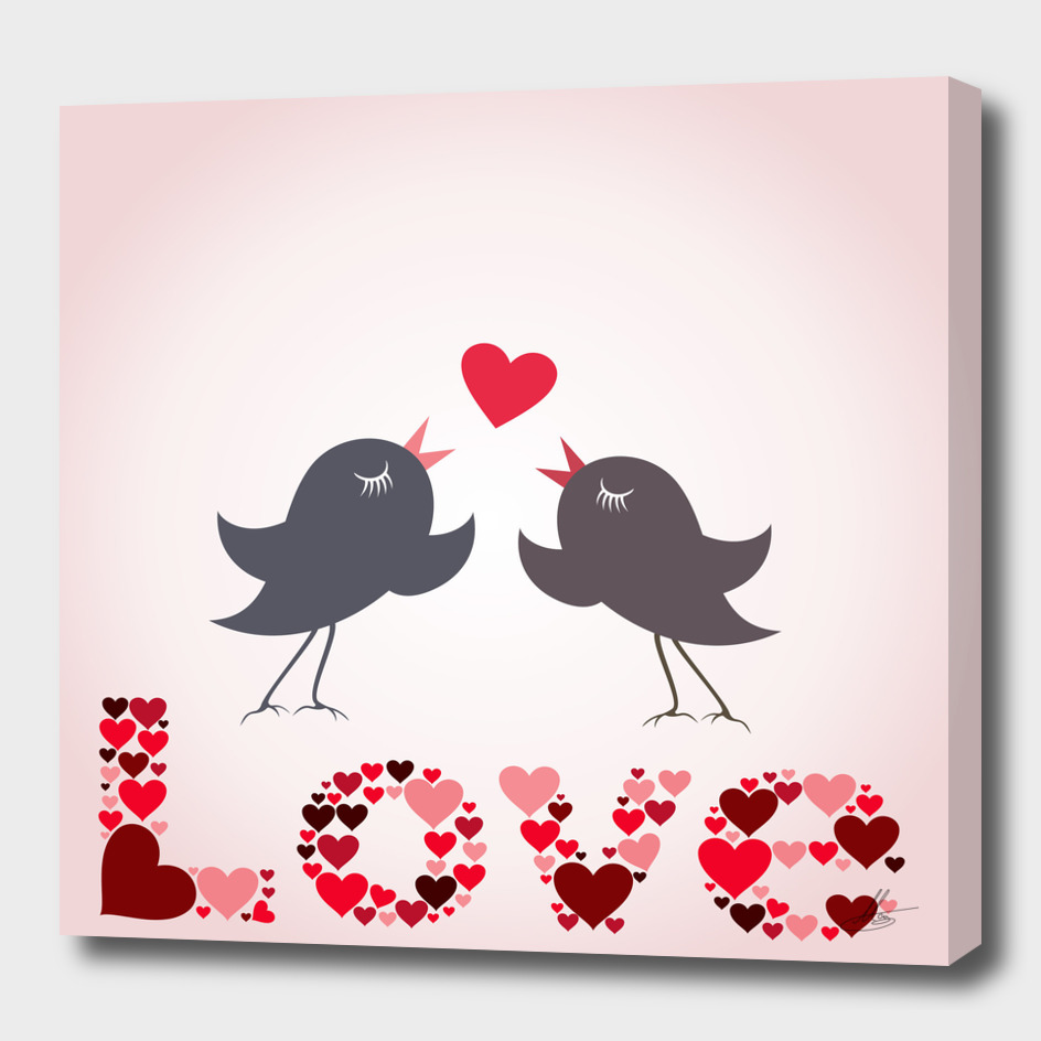 Bird of love