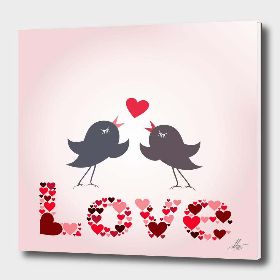 Bird of love
