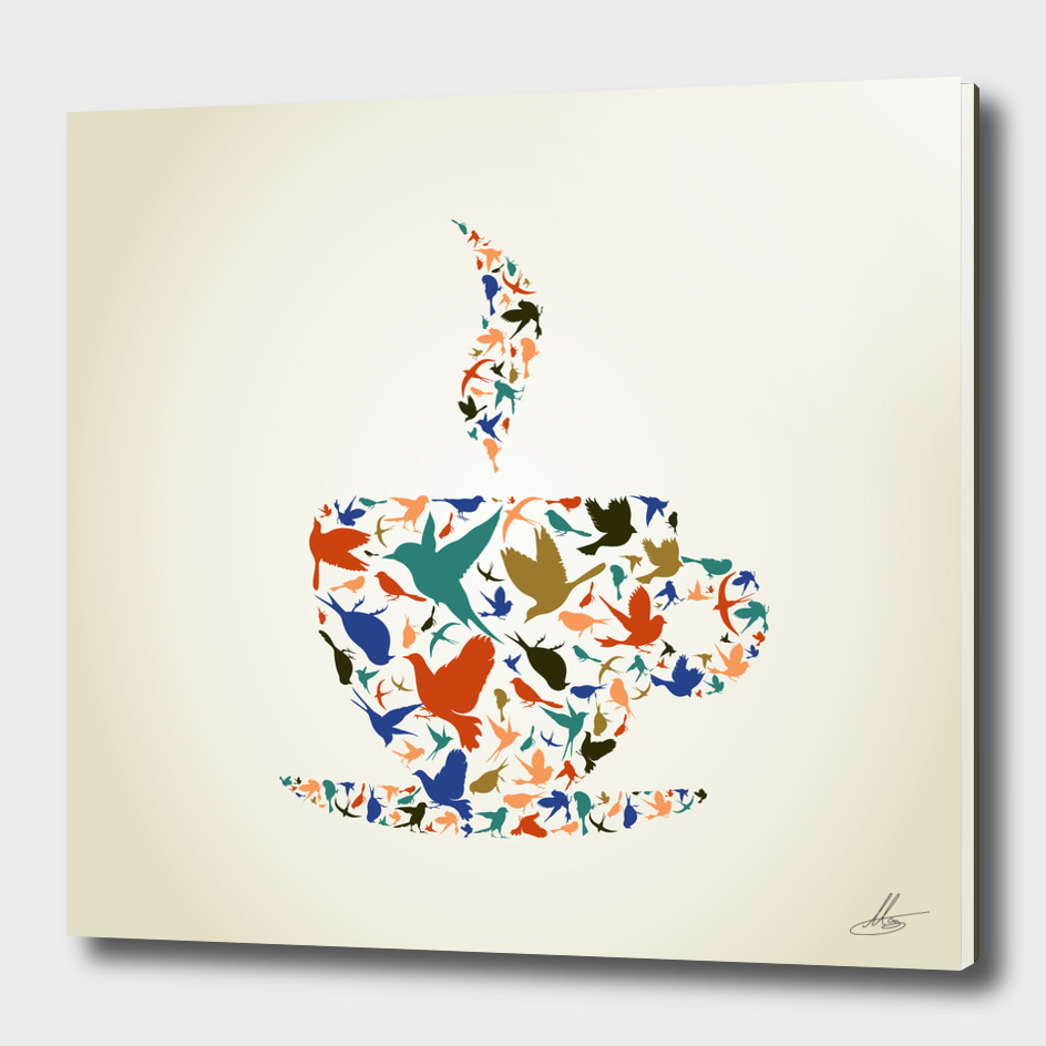 Cup a bird
