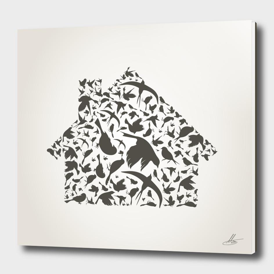 House a bird