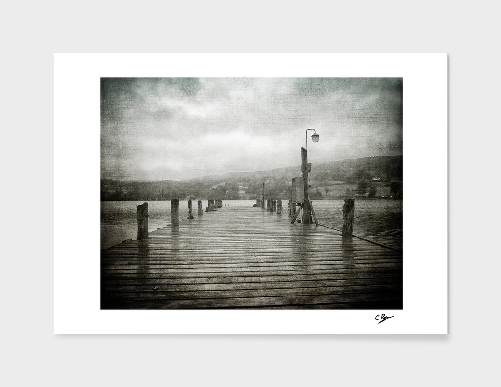 Bluebird Pier, Coniston
