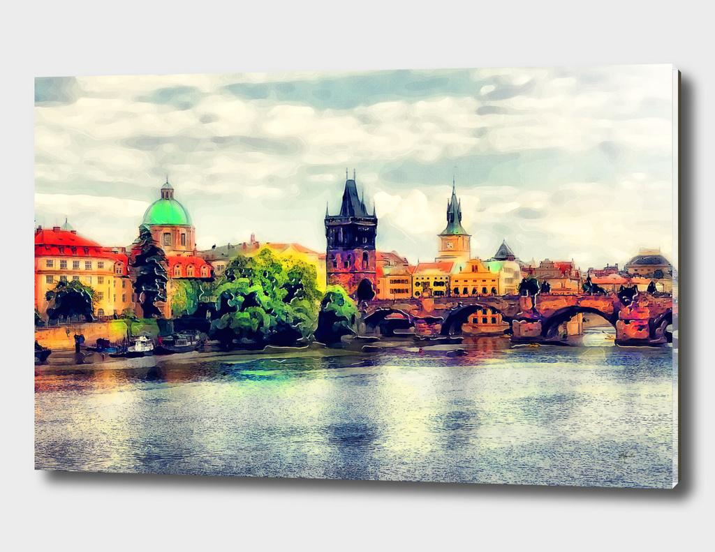 Prague panorame