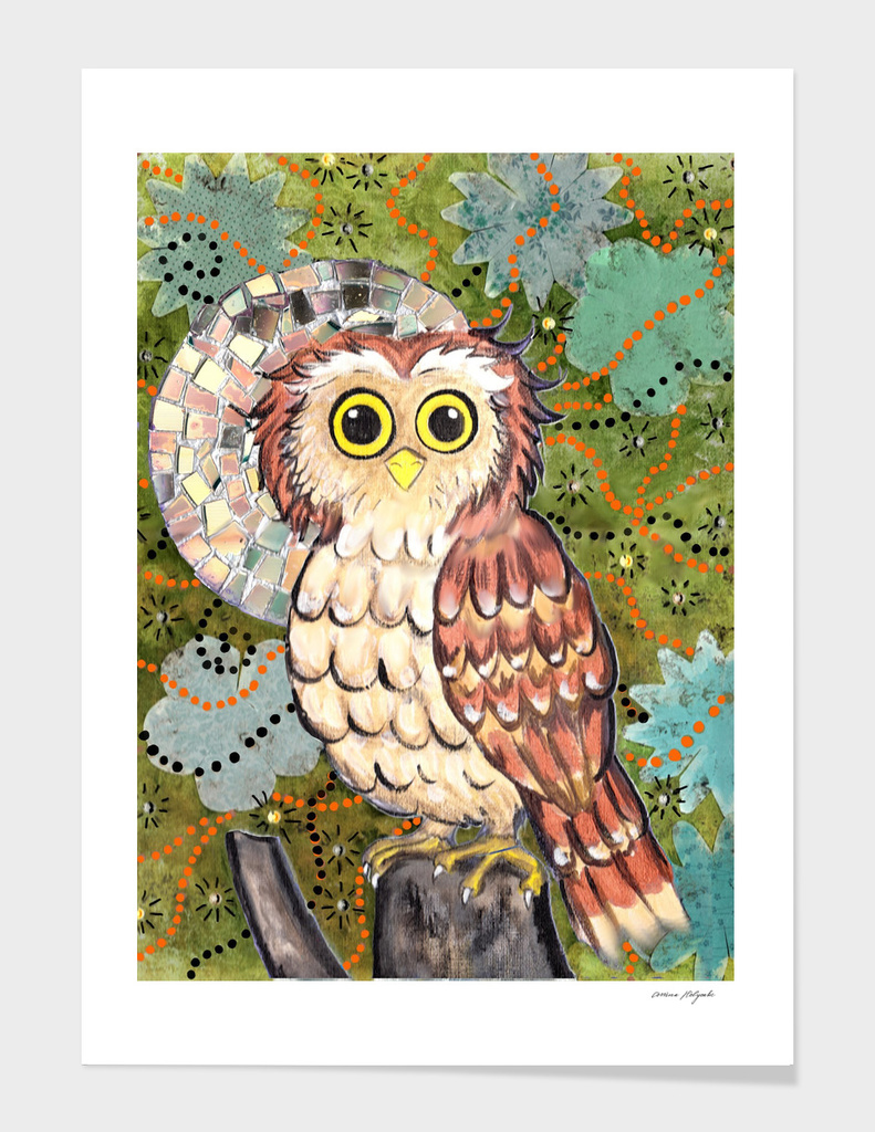 Enchanted Owl with a twist