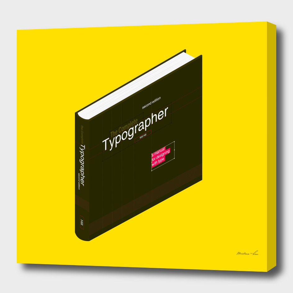 Isometric Book : The Complete Typographer