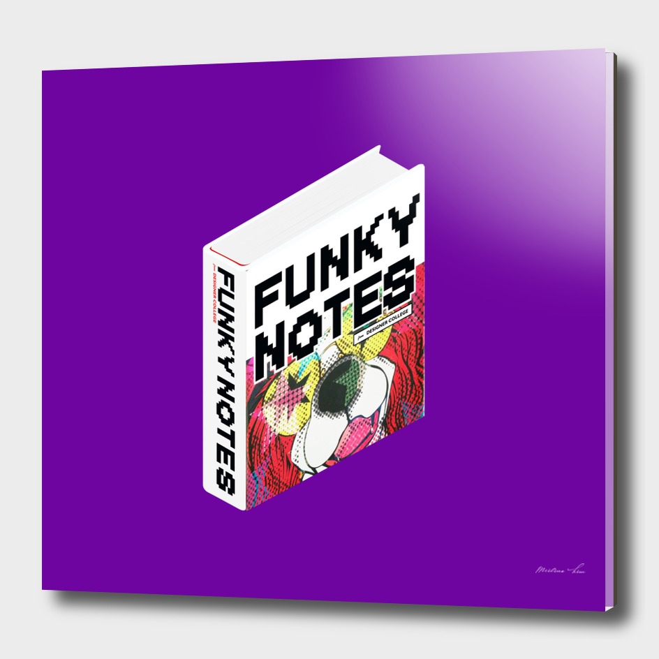 Isometric Book : Funky Notes