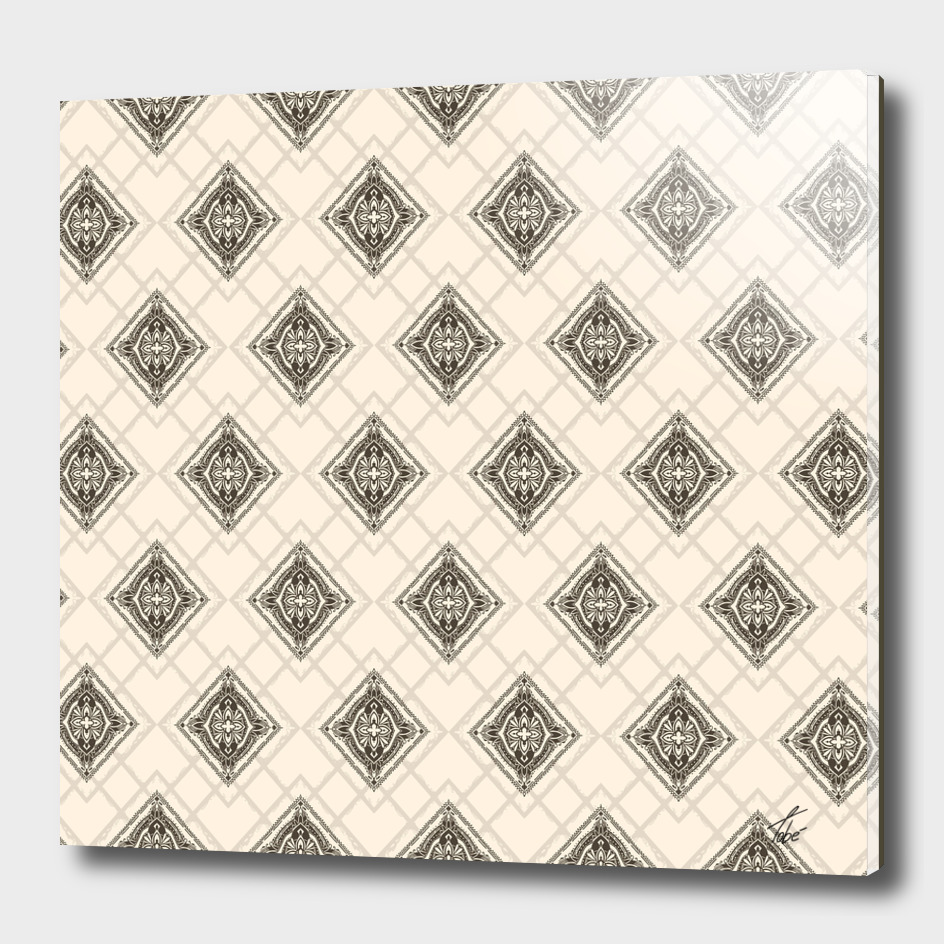 Square Mandala Pattern
