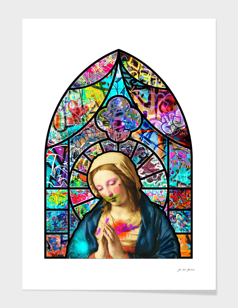 Stained Glass Vandalization