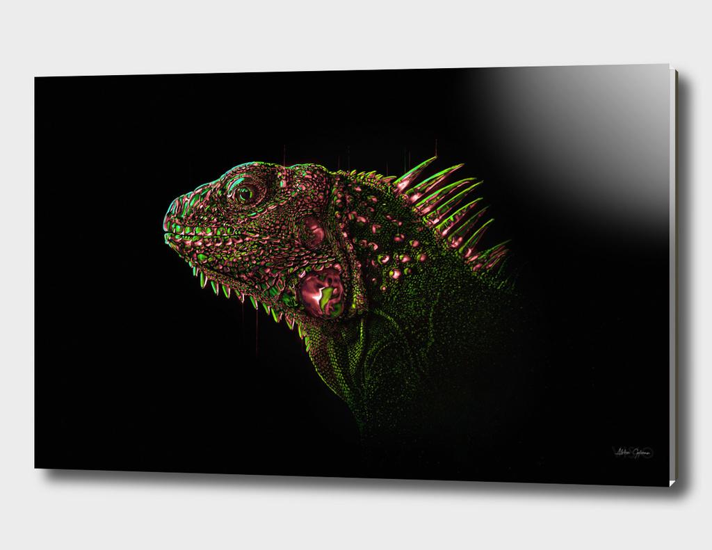 Neon Lizard 2