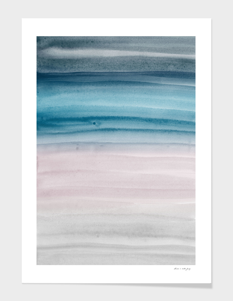 Touching Watercolor Abstract #5 #painting #decor #art