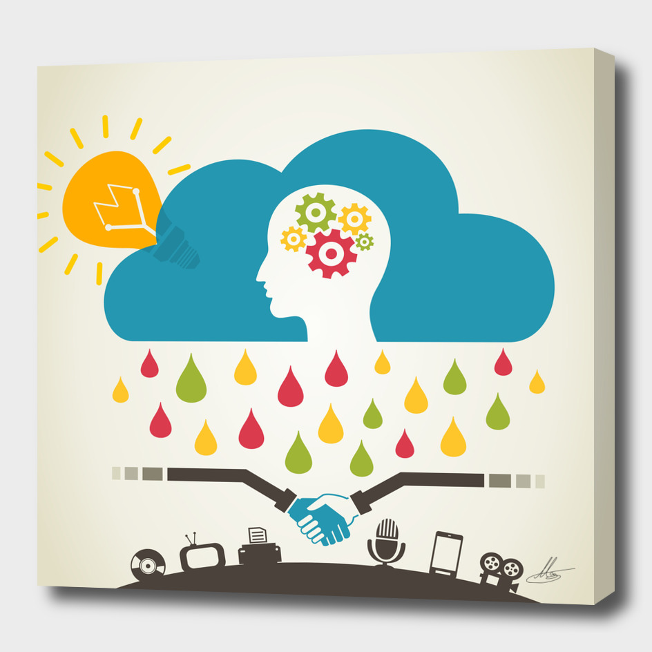 Brain rain