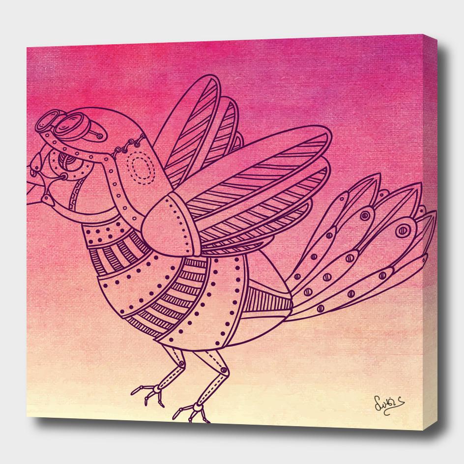 Steampunk Pigeon