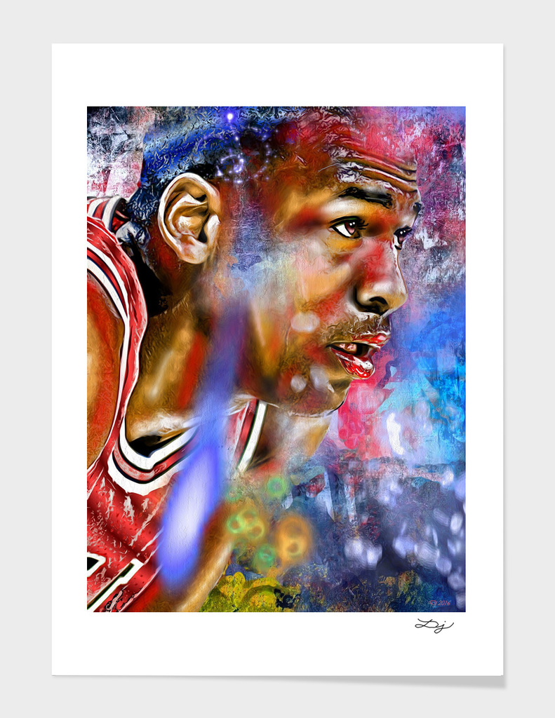 MJ Painted