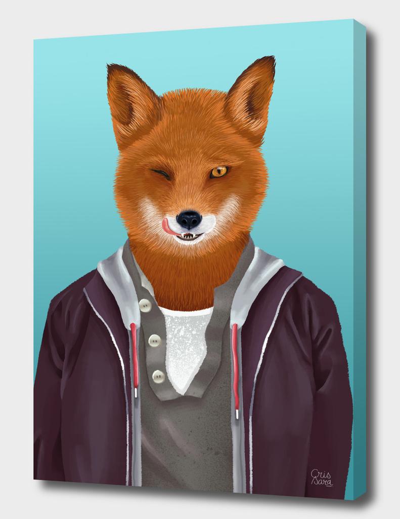 Good-looking fox