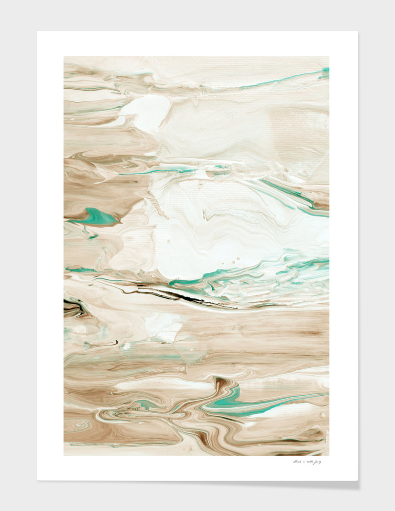 Dreamsicle Abstract #3 #wall #painting #decor #art