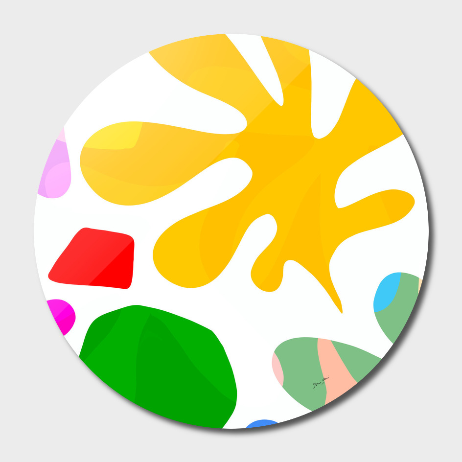 Matisse Summer Shapes Close-up 4