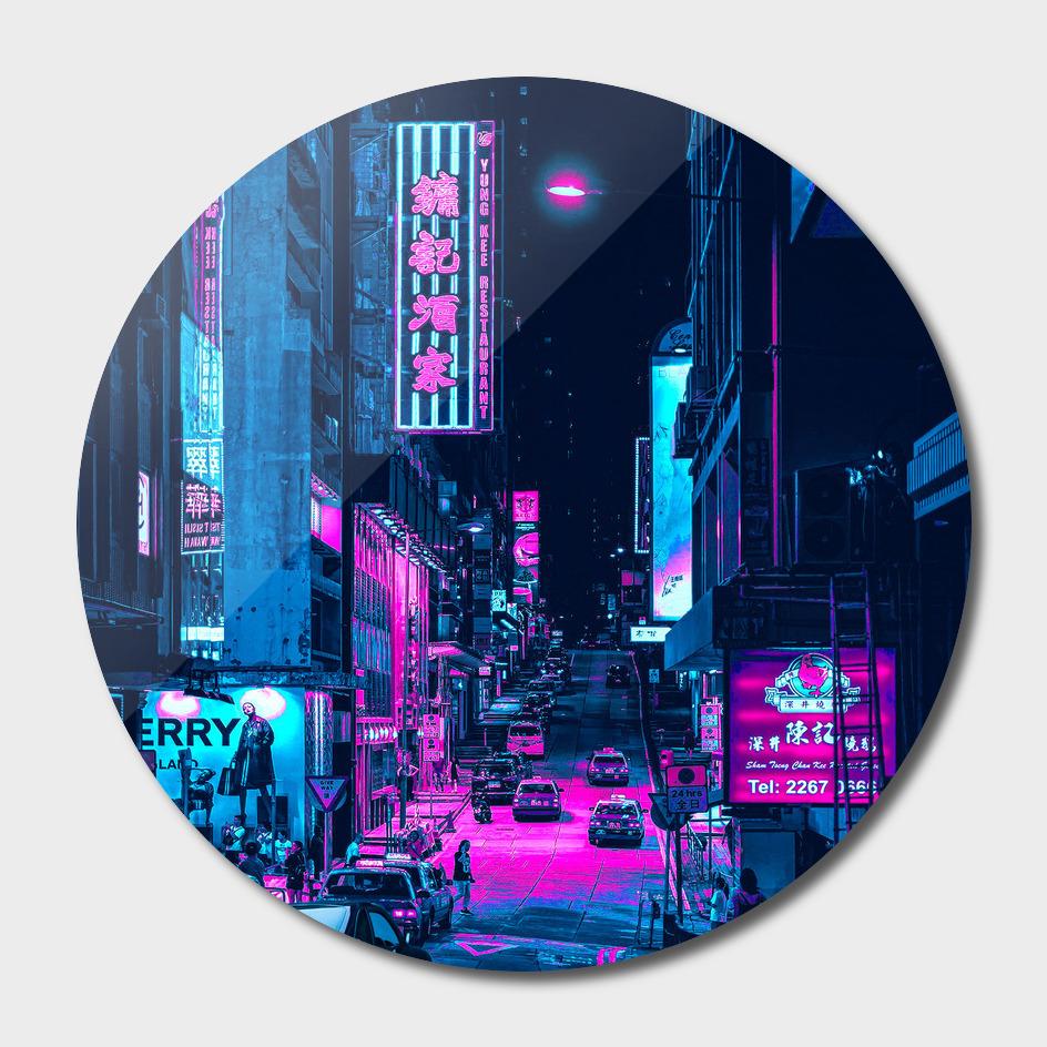 Car Skyline City Neon 2077