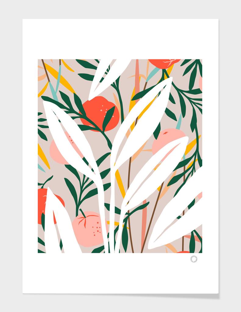 Abstract Plant Blush