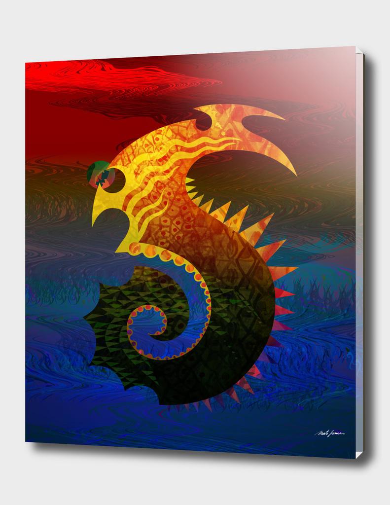 Dragon of the sea