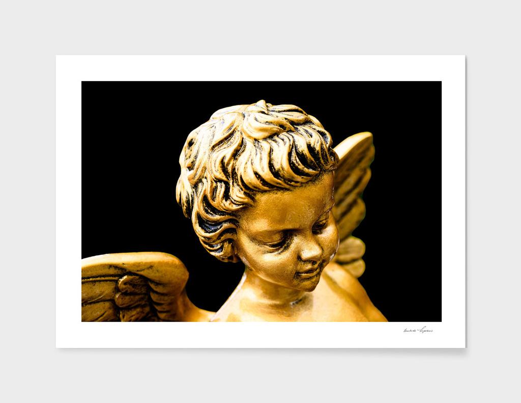 Little gold angel