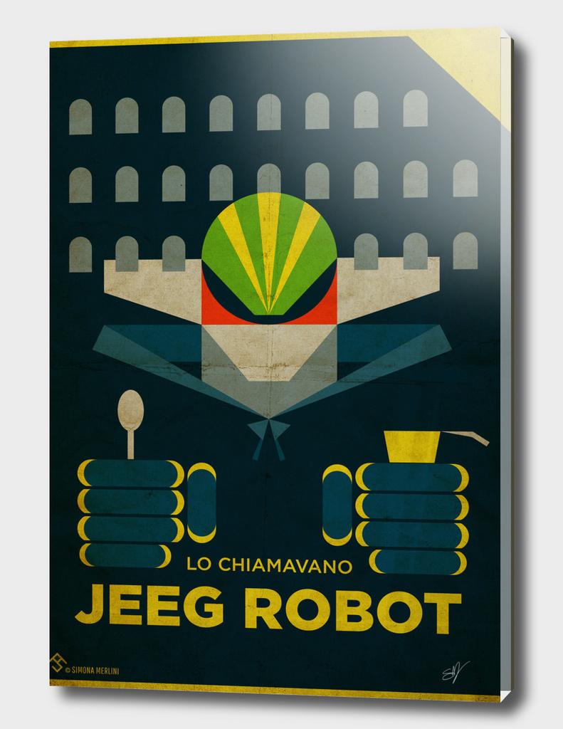 Lo Chiamavano Jeeg Robot Alternative Movie Poster