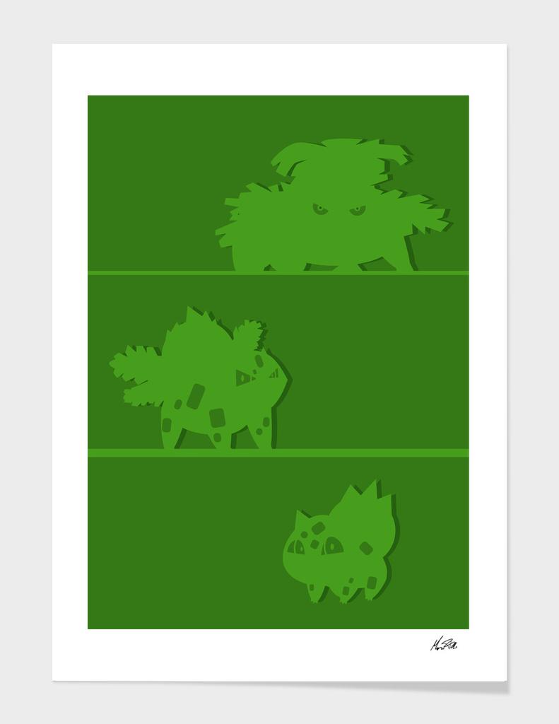Bulbasaur evolutions