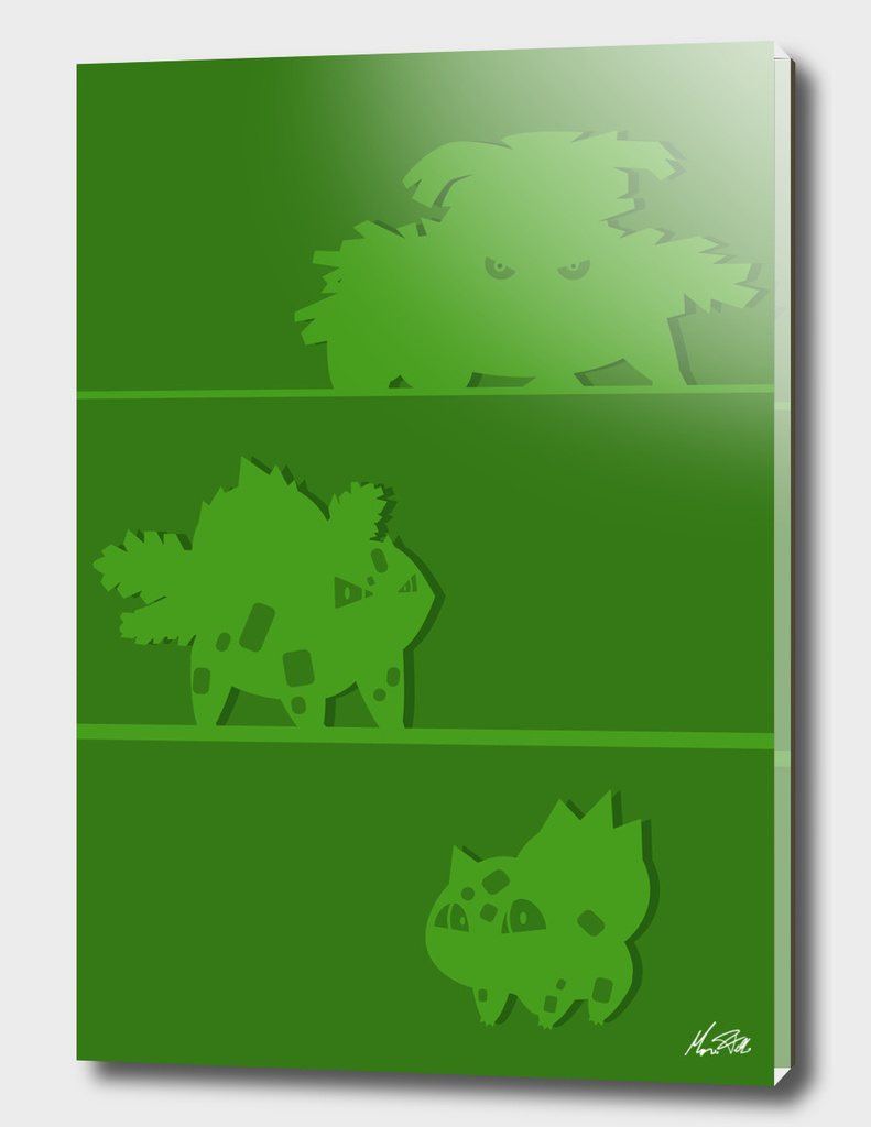 Bulbasaur evolutions