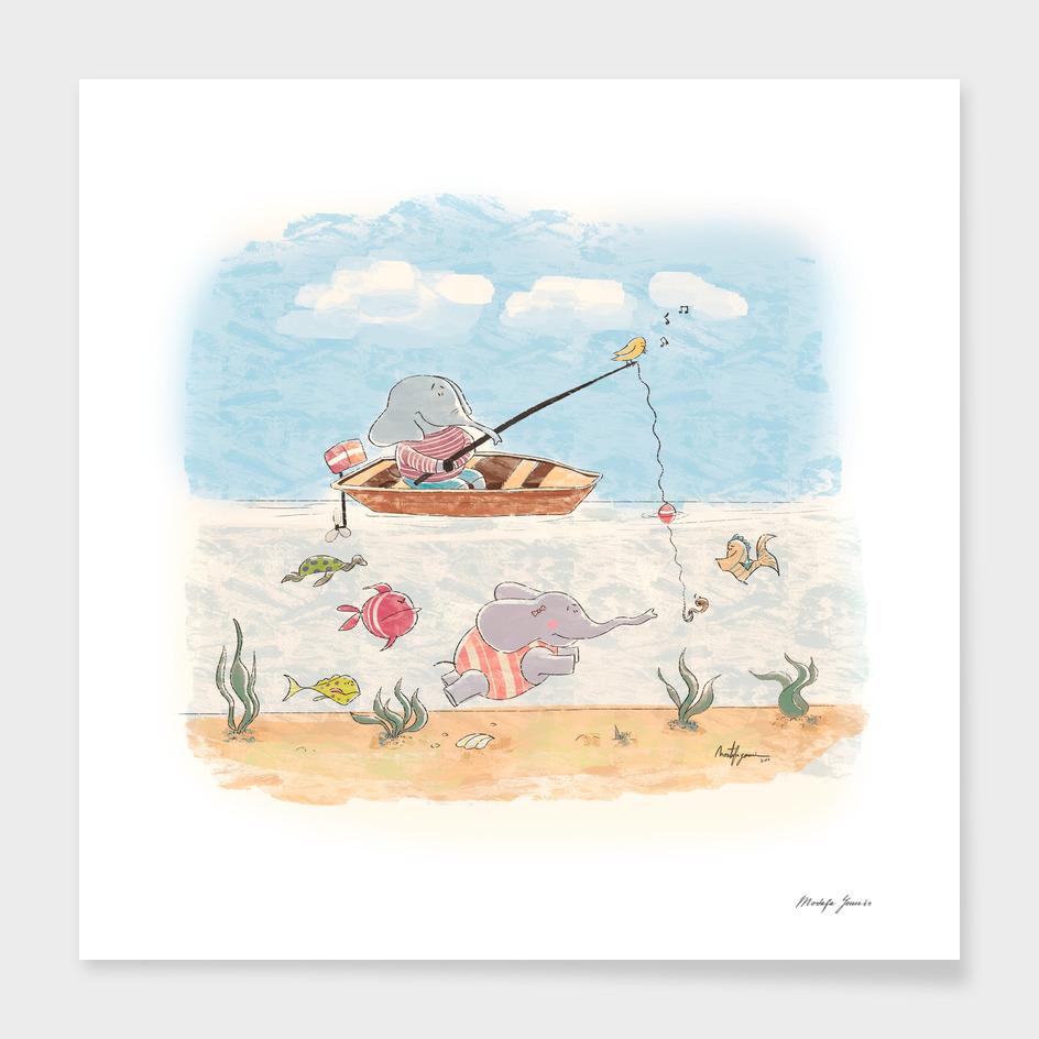 Fishing an Elephant
