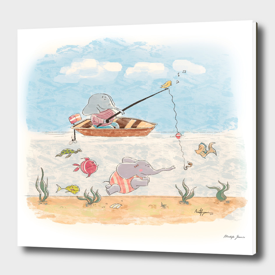 Fishing an Elephant