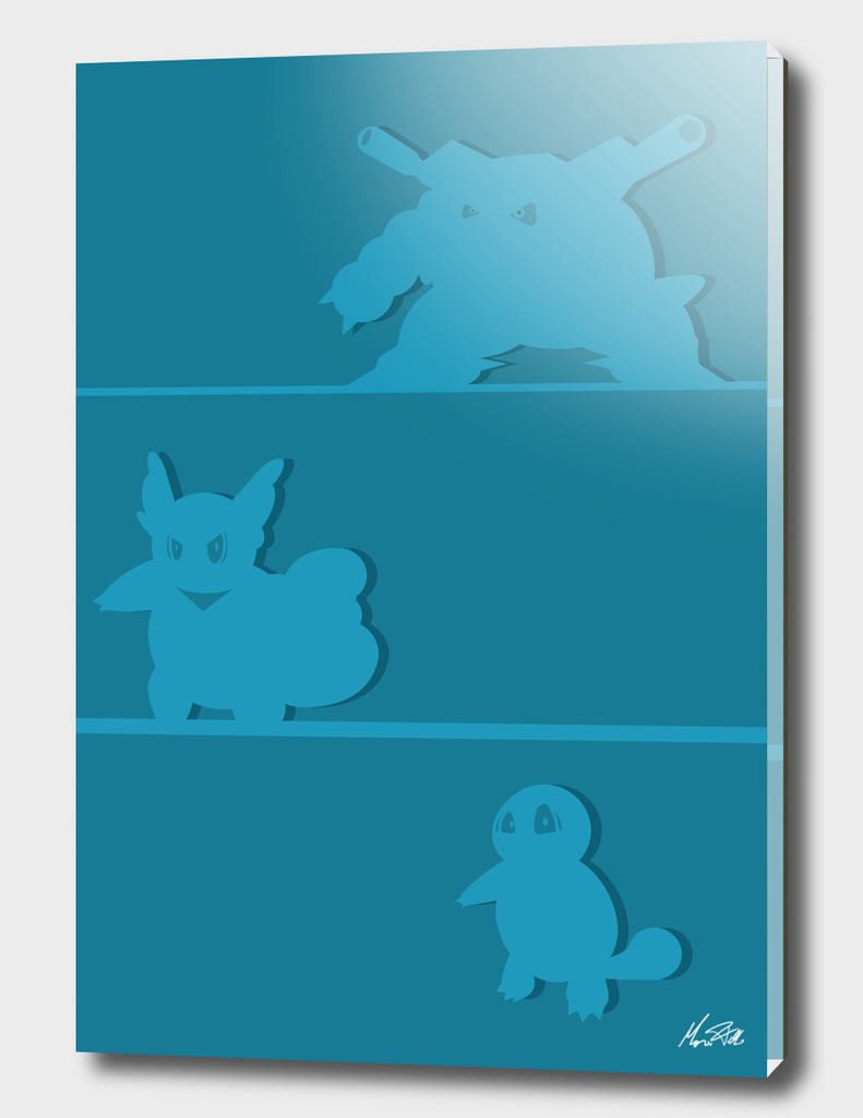 Squirtle evolutions